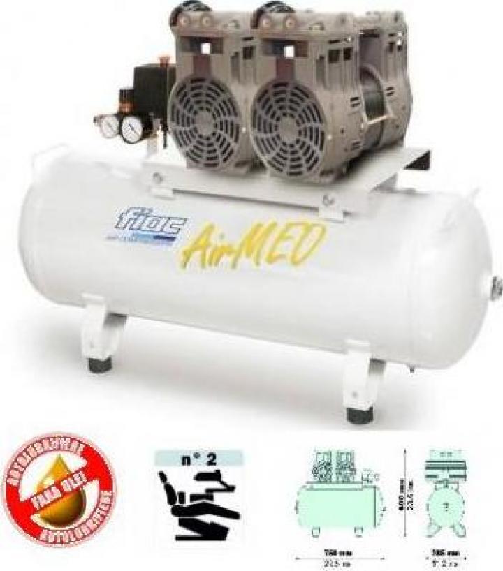 Compresor Fiac Medical Airmed 270/50