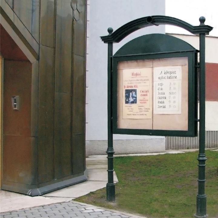 Panou stradal Medieval