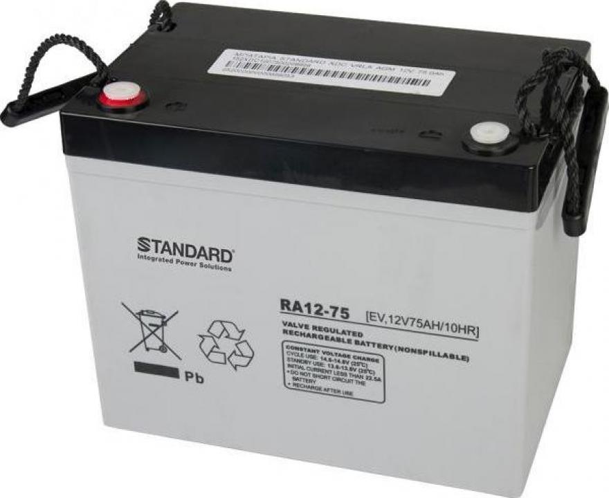 Baterie carut handicap 12V / 75AH