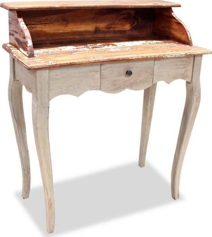 Birou de scris, lemn masiv reciclat 80 x 40 x 92 cm