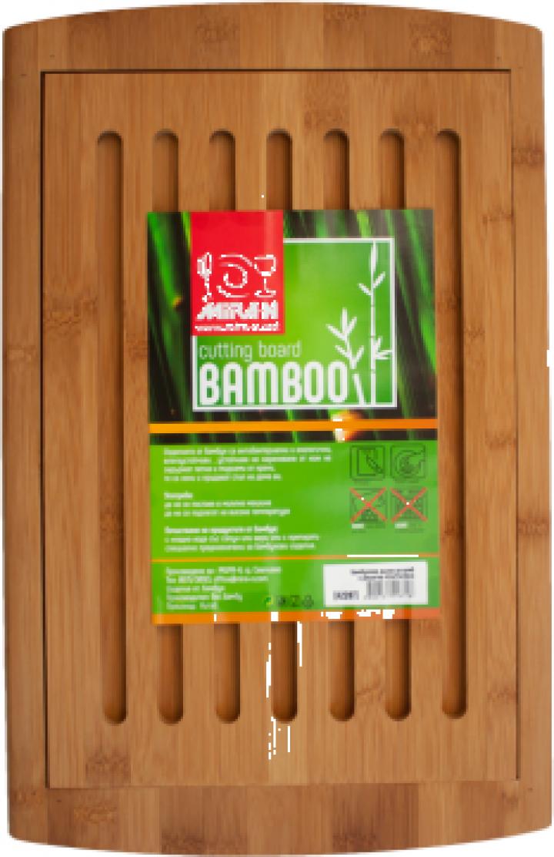 Tocator bucatarie bambus pentru paine Raki 42x27x1,9cm