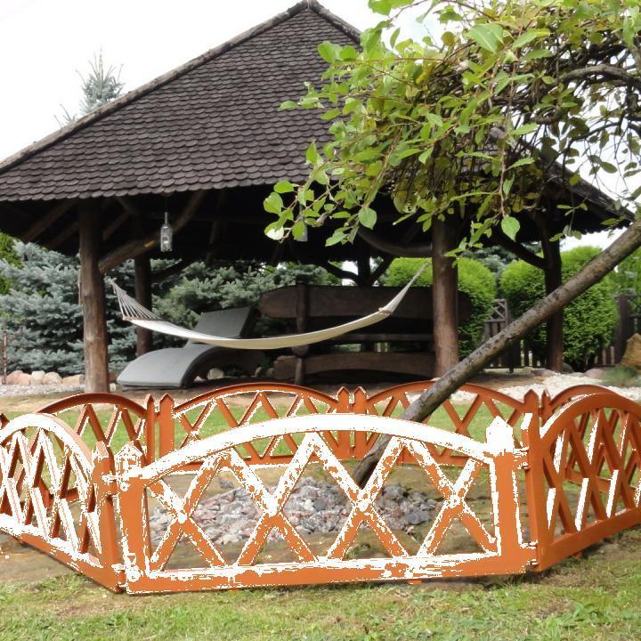 Gard pentru gradina - 2,3m - teracota