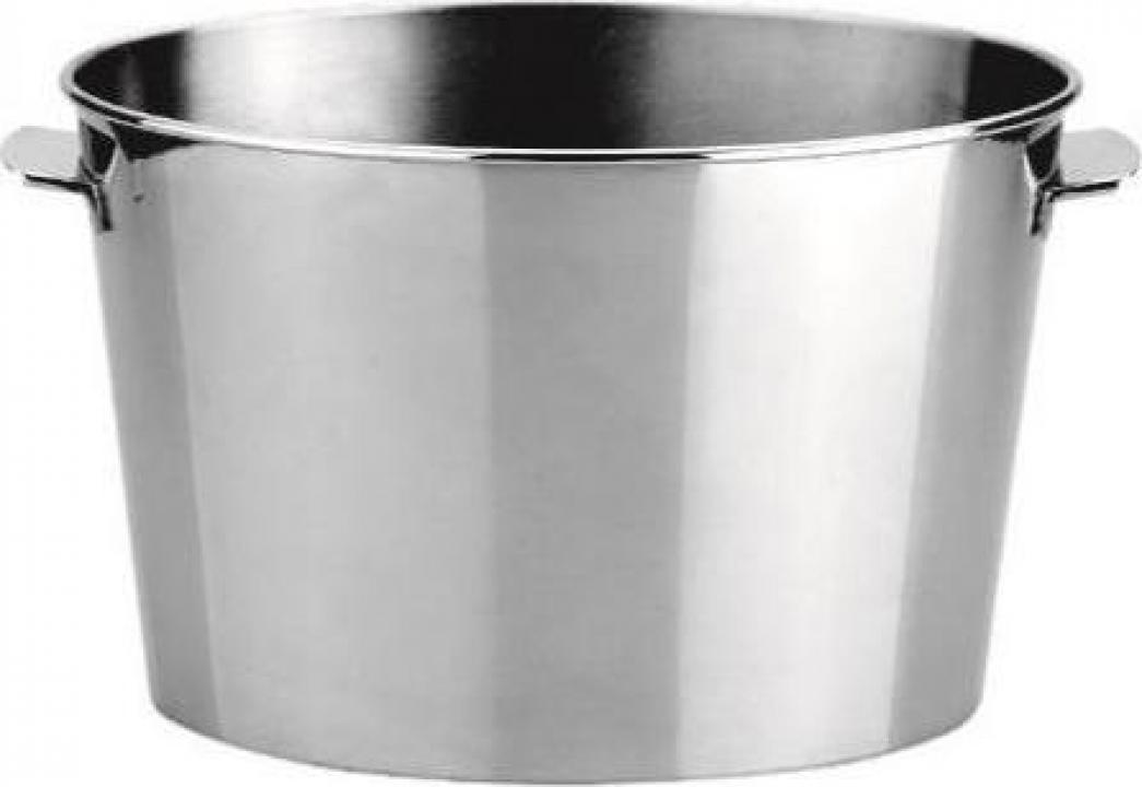 Frapiera inox ovala 7 litri