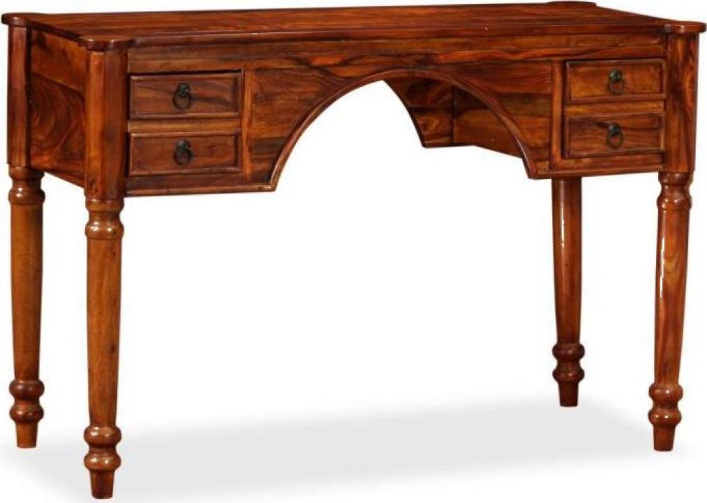 Masa de scris lemn masiv de palisandru 115x50x76cm
