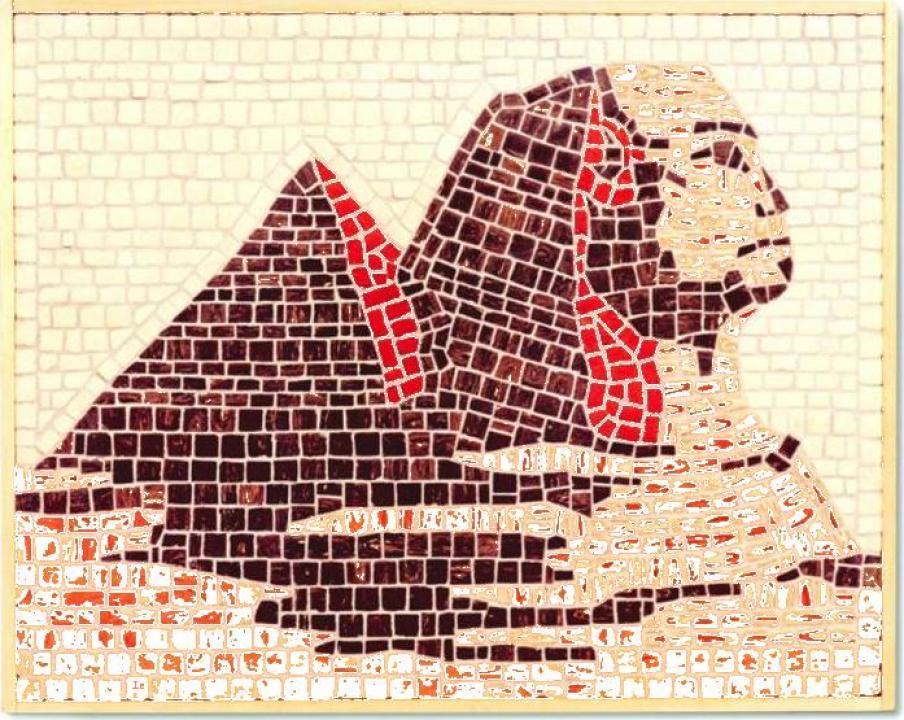 Mozaic decorativ ceramica Piramida Domenech