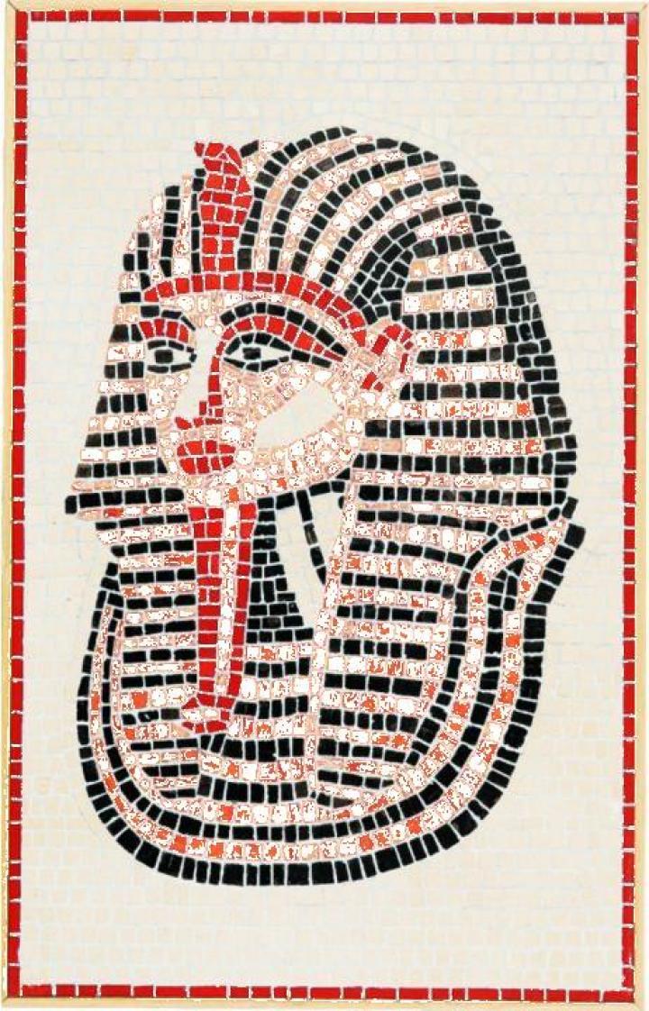 Mozaic decorativ ceramica Tutankhamon Domenech