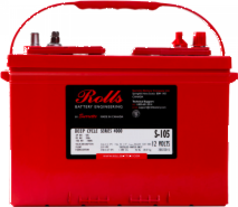 Baterie solara Rolls Solar 4000 - S12 GC (S-200)