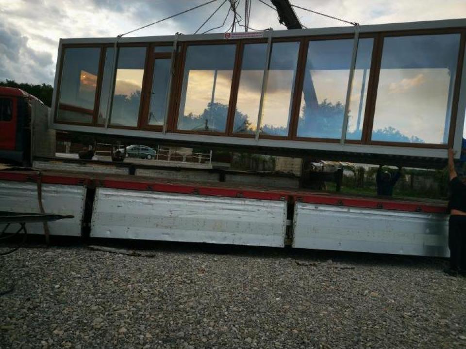 Container magazin vitrat