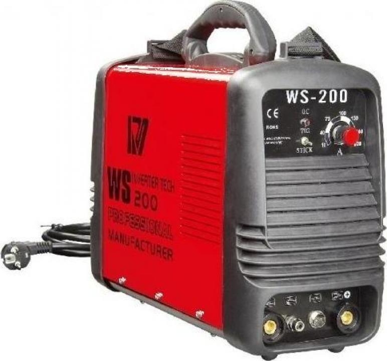 Invertor de sudura in argon WS 200