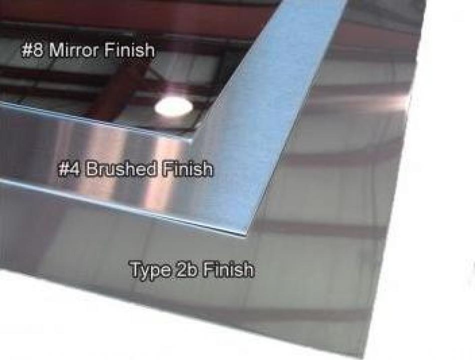 Tabla inox 3mm otel inoxidabil W1.4301 1.4016 1.4404 AISI304