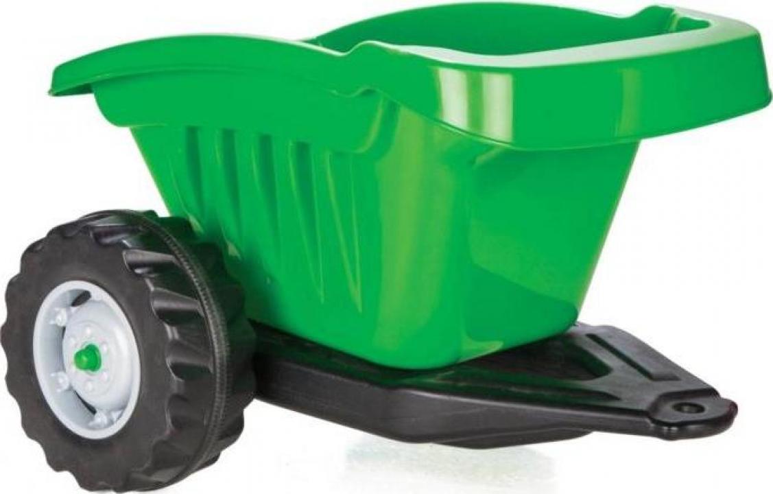 Jucarie remorca pentru tractor Pilsan verde