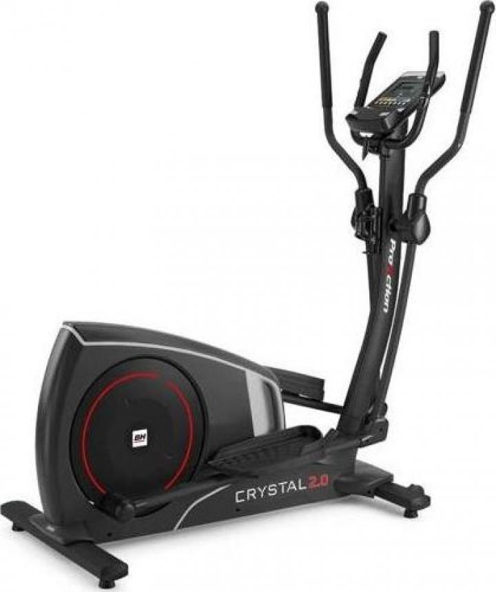 Bicicleta eliptica BH Fitness Crystal 2.0 Dual