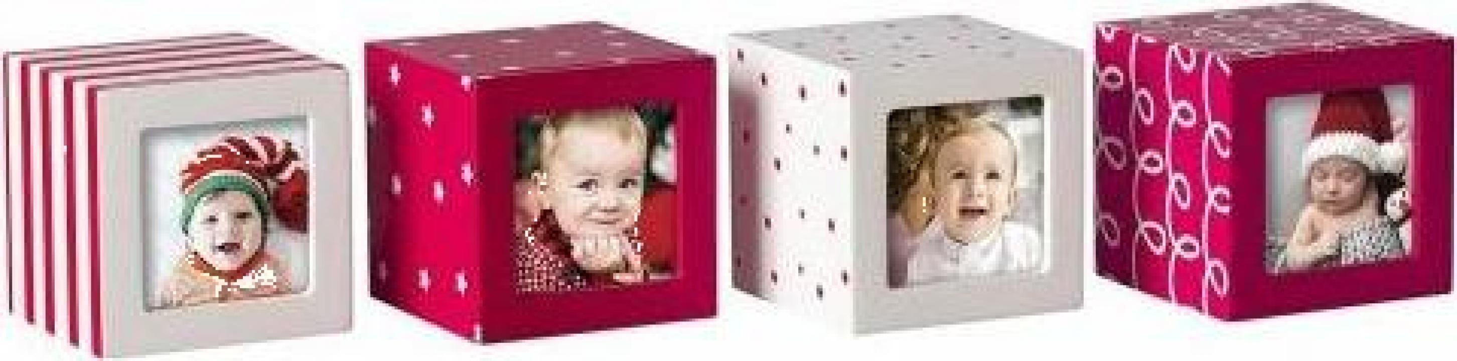 Cuburi pentru fotografii Craciun Pearhead