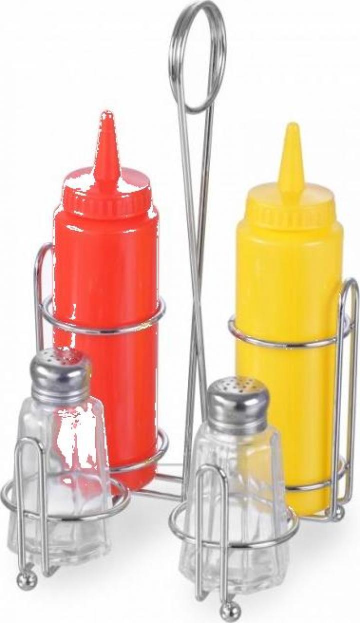 Set pentru condimente, 148x140x(H)250 mm, 2x350 ml