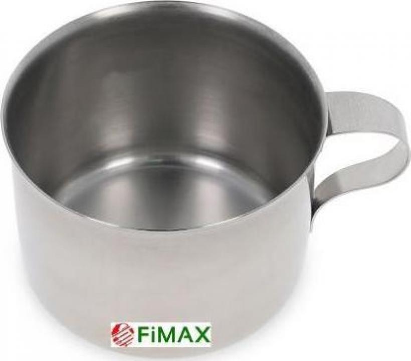 Cana inox pentru ceai, apa 300 ml - util 250 ml