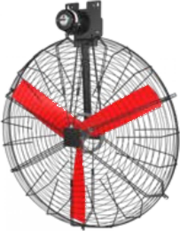 Ventilator de recirculare pentru bovine