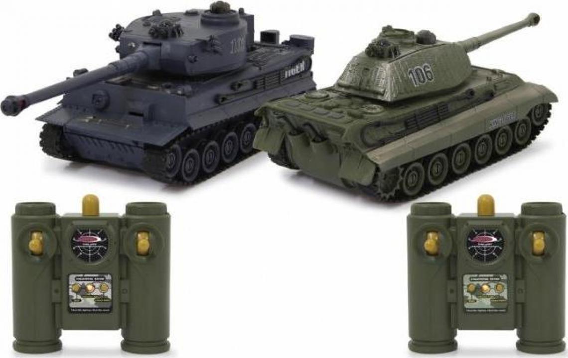 Machete set tancuri Tiger Battle 1:28 (2 buc)