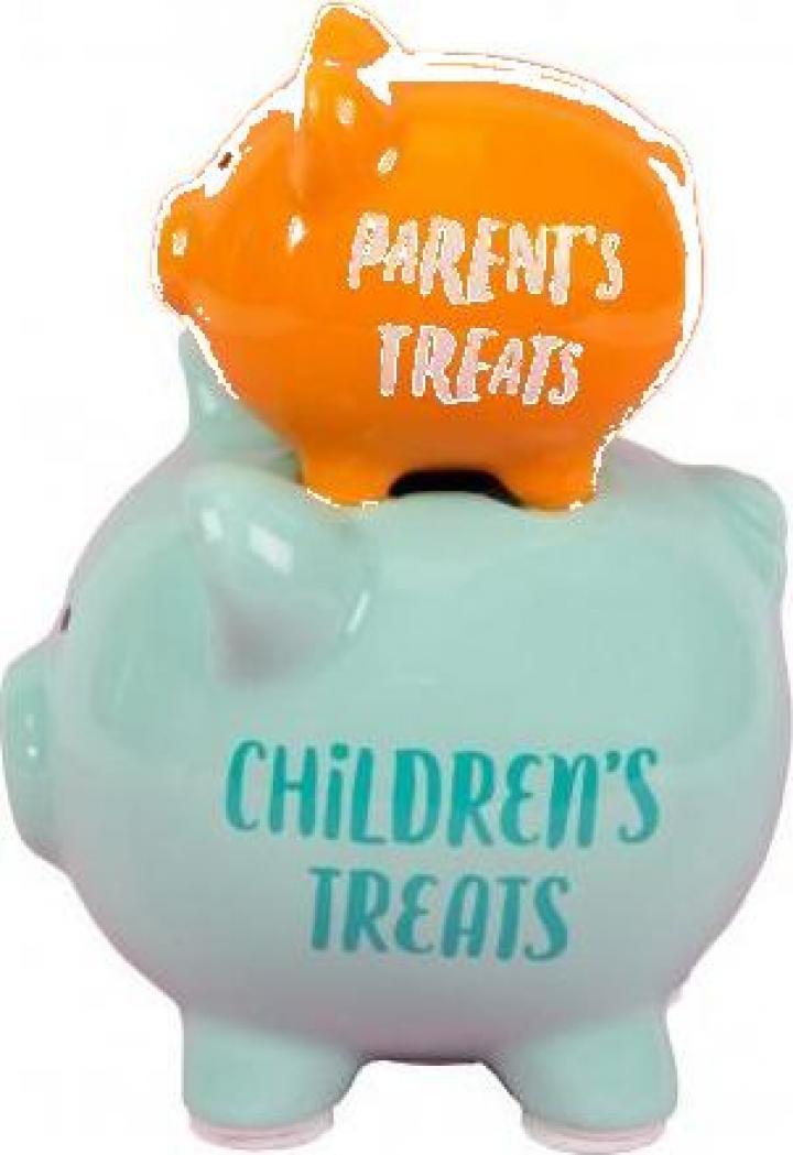 Pusculita din ceramica pentru parinti si copii