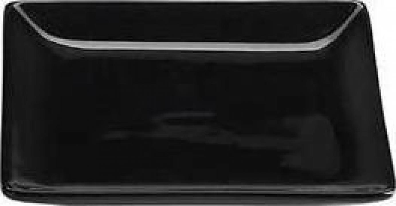 Farfurioara neagra Ming, 12x12 cm