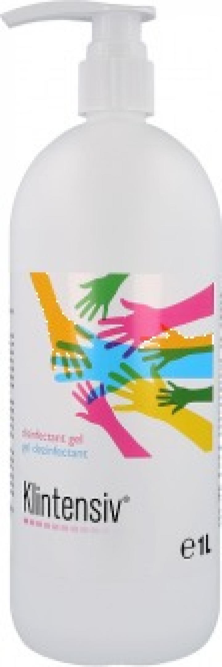 Gel dezinfectant pentru maini Klintensiv, 1000 ml