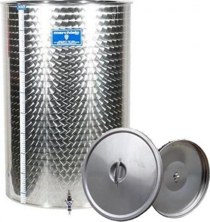 Cisterna inox Marchisio SPO500, 500 litri