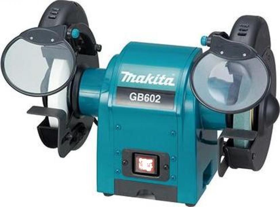 Polizor de banc Makita GB602, 250 W, 150 mm