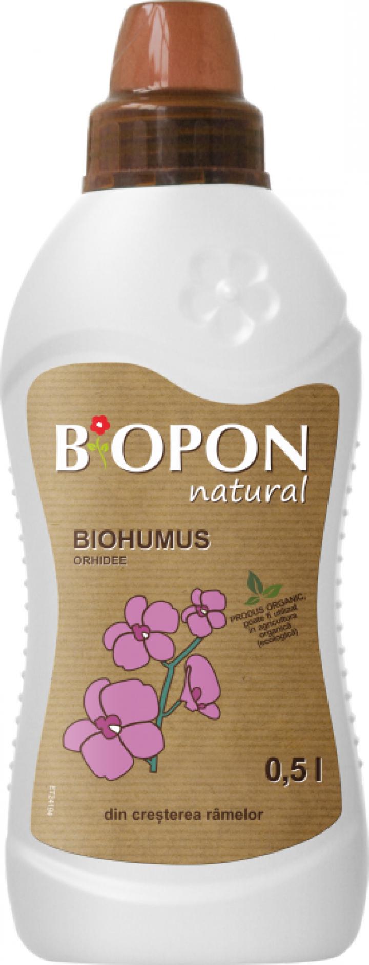 Ingrasamant natural Biohumus Orhidee 0.5 litri