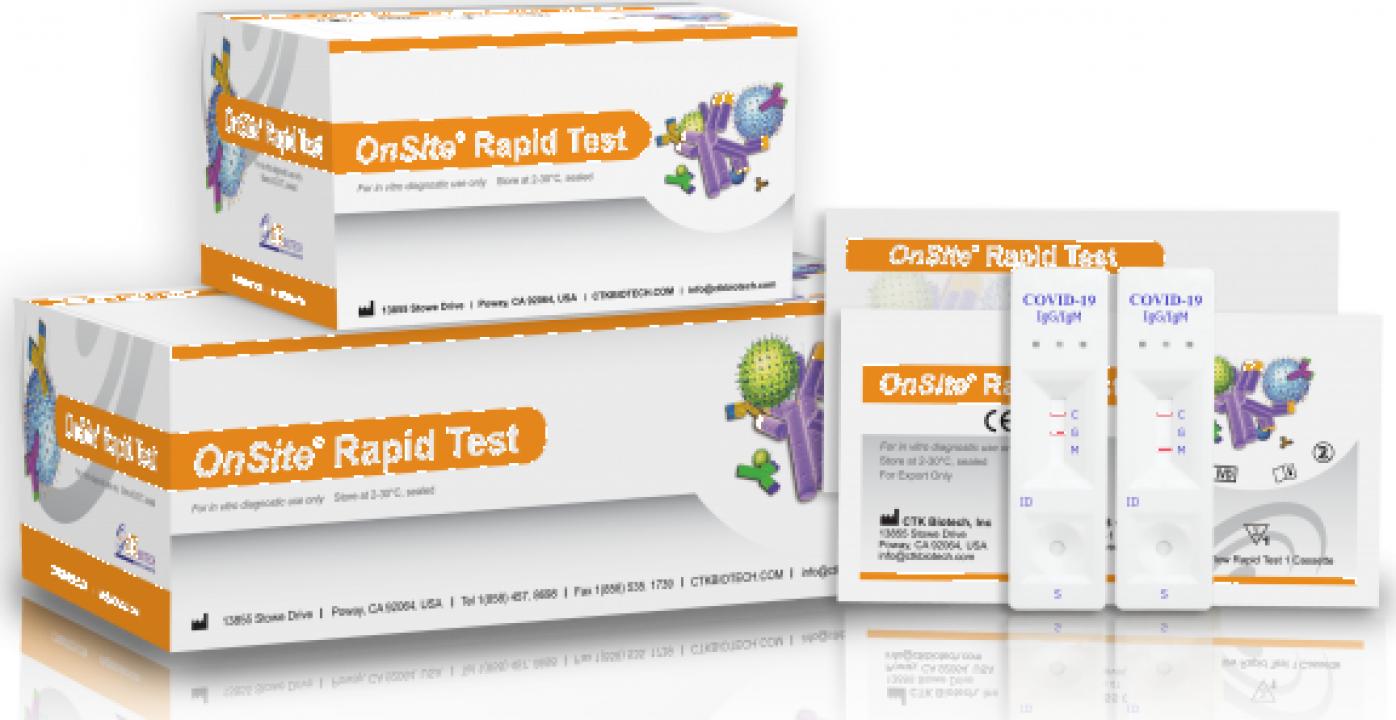 Test anticorpi IgG/IgM Covid 19