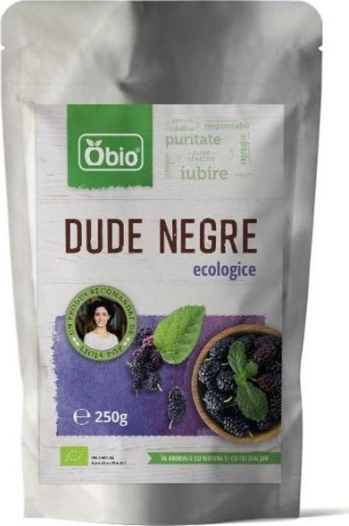 Dude negre deshidratate raw eco, Obio, 250g