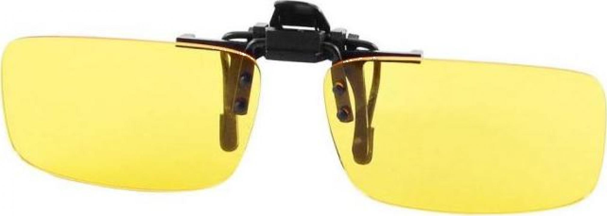 Clipsuri ochelari Night View de condus noaptea