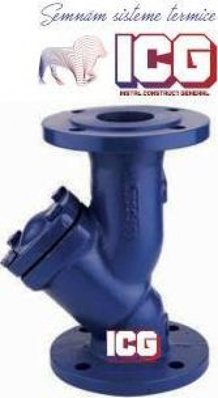 Filtru Y retinere impuritati PN16 DN100