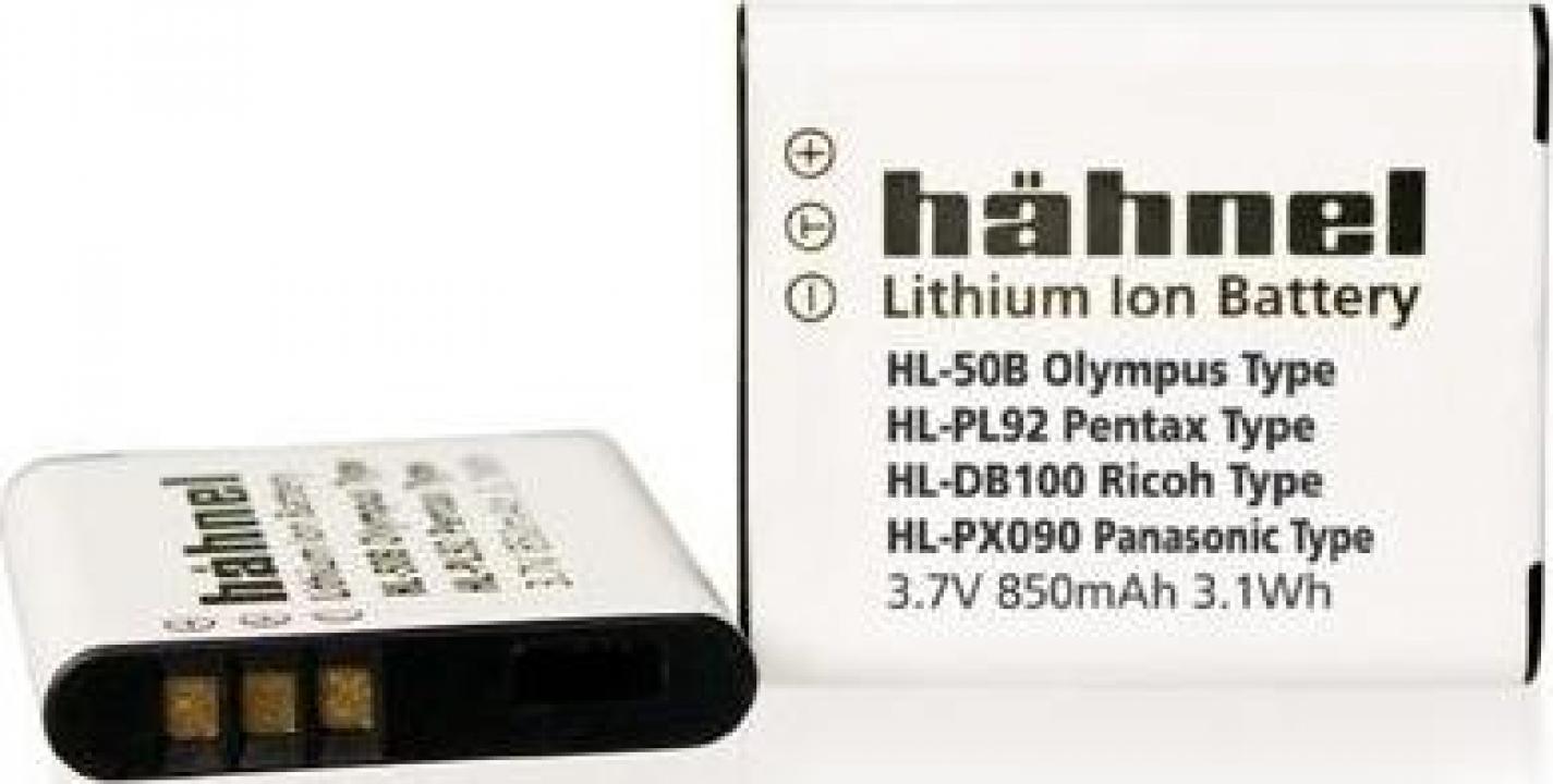 Acumulator Hahnel HL-50B Olympus Li-50B 850mAh