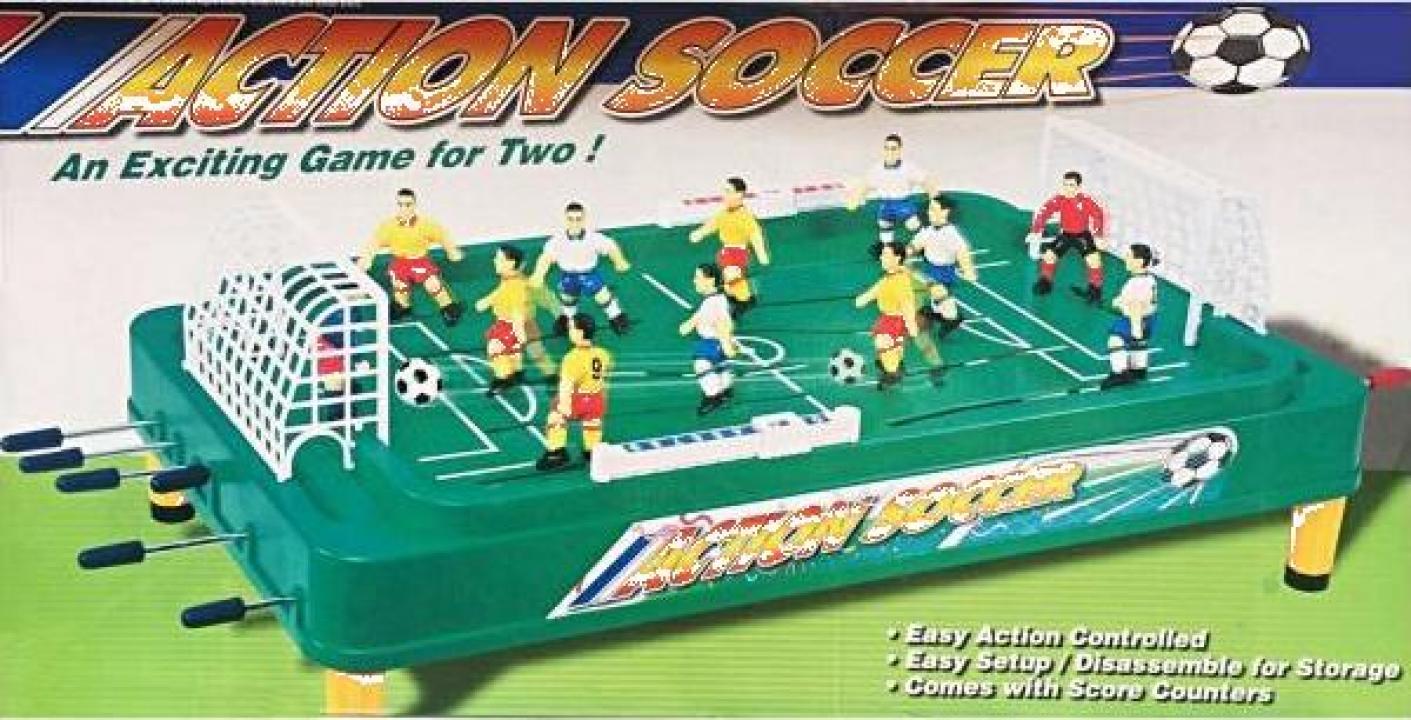 Joc fotbal de masa cu toate accesoriile tije fata-spate