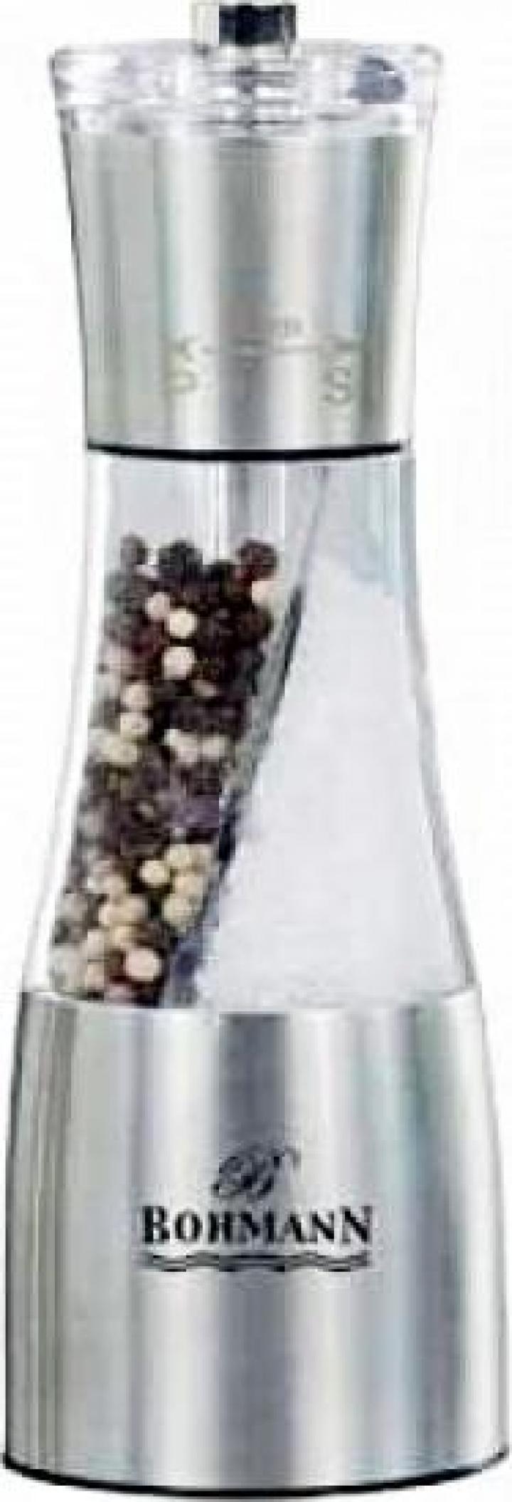 Rasnita condimente 2in1 manuala Bohmann BH7801